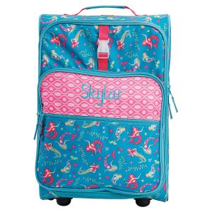 "All-Over Mermaid Print 22"" Rolling Luggage by Stephen Joseph®"