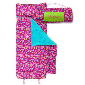 Personalized All-Over Paisley Print Nap Mat by Stephen Joseph®