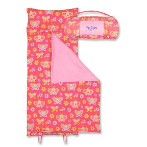 Personalized All-Over Butterfly Print Nap Mat by Stephen Joseph®