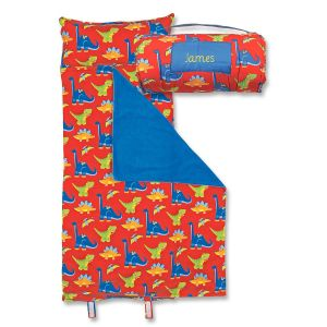 Personalized All-Over Dino Print Nap Mat  by Stephen Joseph®