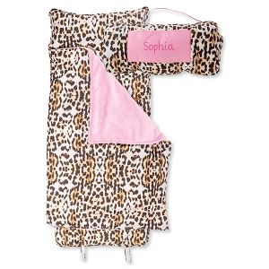All-Over Leopard Print Personalized Nap Mat by Stephen Joseph®