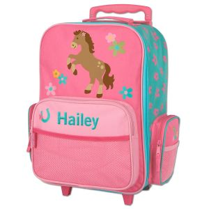 "Horse 18"" Personalized Rolling Luggage by Stephen Joseph®"