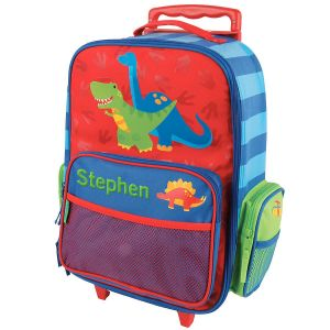 """Dino 18"""" Personalized Rolling Luggage by Stephen Joseph®"""