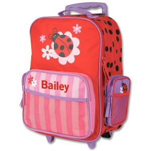 "Ladybug Rolling Luggage 18"" by Stephen Joseph®"