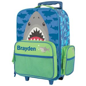 "Shark Rolling Luggage 18"" by Stephen Joseph®"
