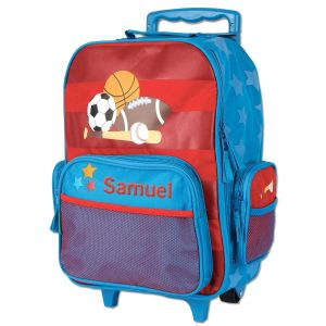 "Sports Rolling Luggage 18"" by Stephen Joseph®"