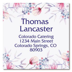 Tender Large Square Address Labels