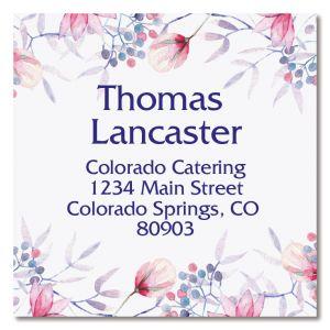 Tender Large Square Address Labels