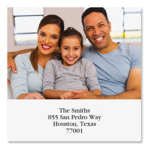 Direct Large Square Photo Address Label