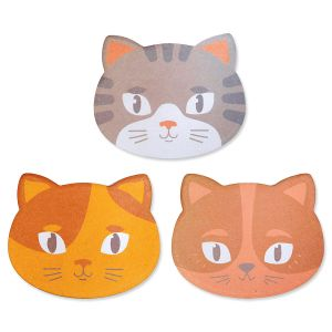 Kitty Cat Sticky Note Pads