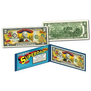 Super Dad 2 Dollar Bill