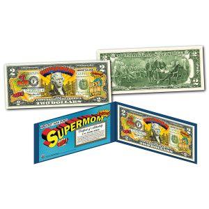 Super Mom 2 Dollar Bill