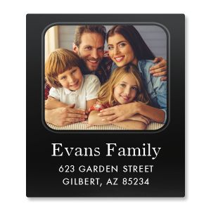 Modern Photo Select Address Label
