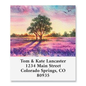 Lavender Fields Select Address Labels