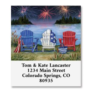 Adirondack Charis At Lake Select Address Labels