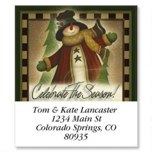 Celebrate The Season Select Address Labels