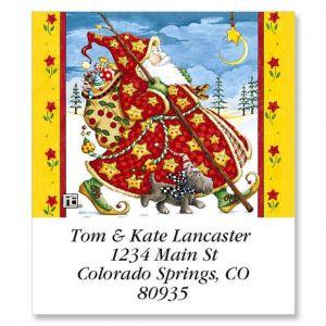 Check Cherry Santa Select Address Labels