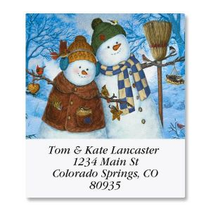 Family Christmas Select Address Labels