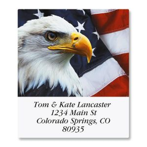 Bald Eagle Select Address Labels