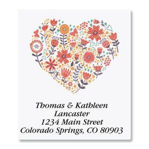 Petite Blooms Select Address Labels