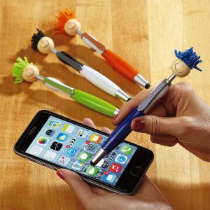 Tech Tom 3-in-1 Stylus-Pen-Screen Duster