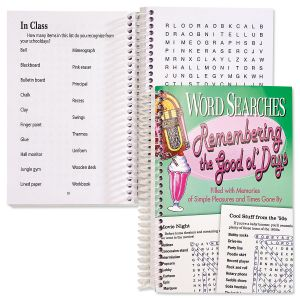 Remembering the Good ol' Days Word Search