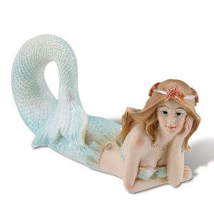 Reclining Mermaid Figurine