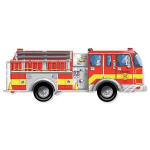 Giant Firetruck Puzzle by Melissa & Doug®