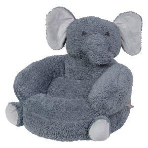 Sherpa Elephant Children's Plush Chair