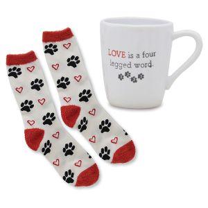 Mug & Socks Gift Set for Pet Lovers