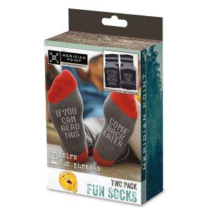 Fun Phrases Socks