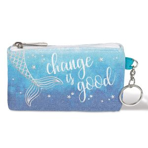 Change Is Good Keychain Purse