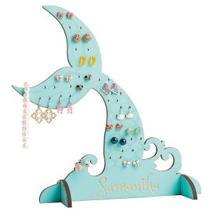 Mermaid Tail Personalized Jewelry Stand