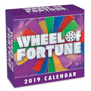 2019 Wheel of Fortune Day-to-Day Calendar