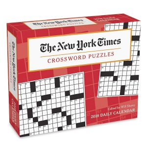 2019 New York Times Crossword Puzzle Day-to-Day Calendar