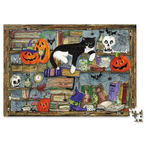 Halloween House Cat Puzzle