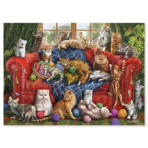 Love My Cats Jigsaw Puzzle