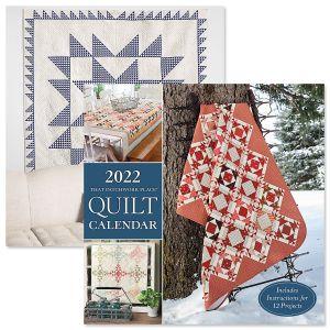 2022 Patchwork Quilt Calendar