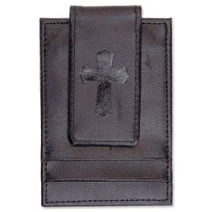 Cross Black Money Clip