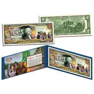 Wizard of Oz 2 Dollar Bill