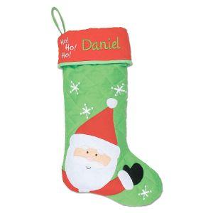 Personalized Santa Christmas Stocking by Stephen Joseph®