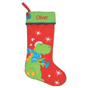 Personalized Dino Christmas Stocking by Stephen Joseph®