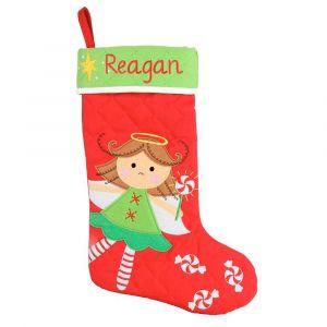 Personalized Angel Christmas Stocking by Stephen Joseph®