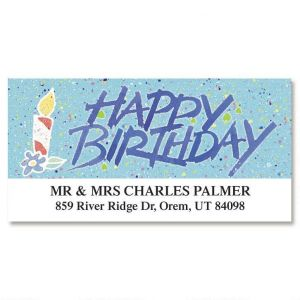 Occasions Deluxe Address Labels  (6 designs)