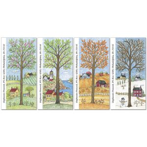 All Season Oversized Address Labels  (4 Designs)