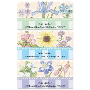 Tapestry Address Labels  (3 designs)