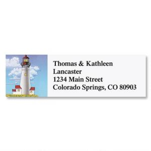 Lighthouse Classic Address Labels  (6 designs)