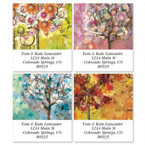 Seibert Season's Select Address Labels  (4 designs)