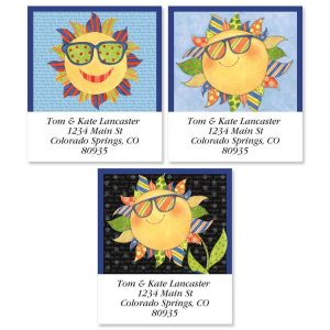 Sunshine Select Address Labels  (3 designs)
