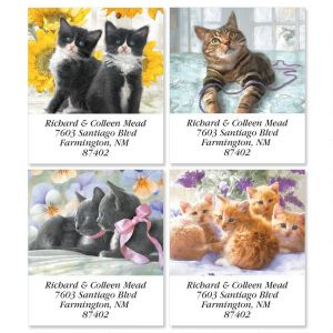 Purrfectly Feline Select Address Labels  (4 Designs)